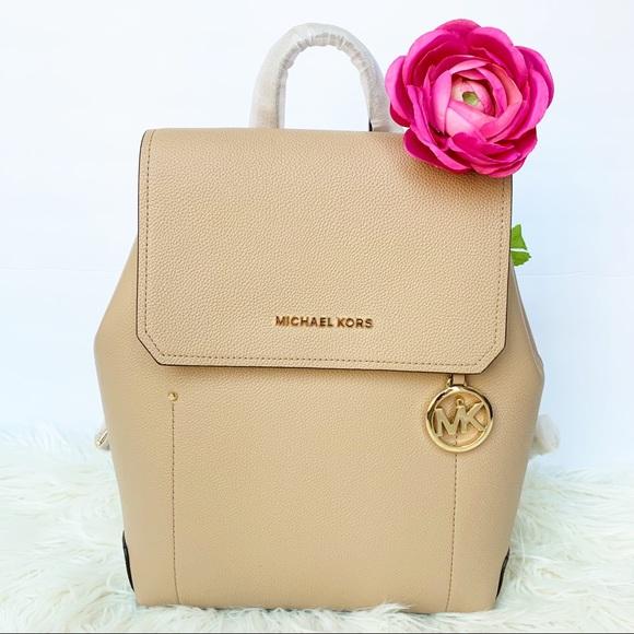 Michael Kors Handbags - NWT Michael Kors Hayes Backpack